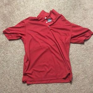 NikeGolf Dri-FIT Red Polo